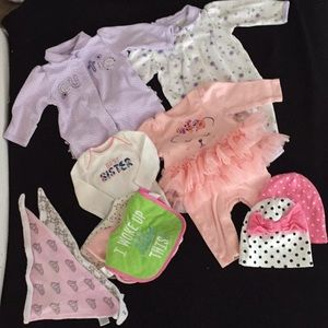New born baby girl clothes
